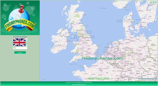 FindMyphones Screenshot United Kingdom